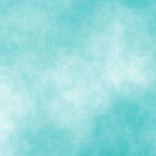 Fox Abstract Mint Green Clouds Vinyl Photography Backdrop-Foxbackdrop