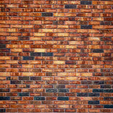 Retro Maroon Brick Wall Vinyl Printed Backdrop for Photography