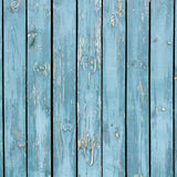 Fox Blue Wood Wall Children Vinyl Photos Backdrop