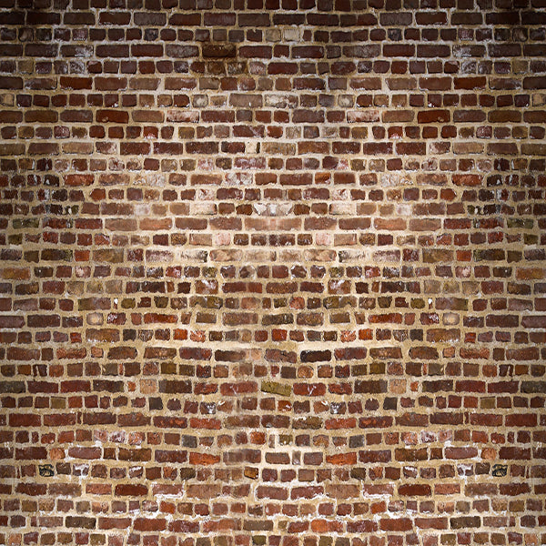 Fox Vintage Maroon Brick Vinyl Backdrop-Foxbackdrop