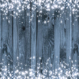 Fox Rolled Wood Board Shiny Stars Vinyl Photos Backdrop