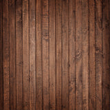 Fox Retro Brown Wood Board Vinyl Photos Backdrop for Children-Foxbackdrop