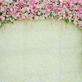 Load image into Gallery viewer, Fox Flowers Banner Newborn Maternity Vinyl Backdrop-Foxbackdrop