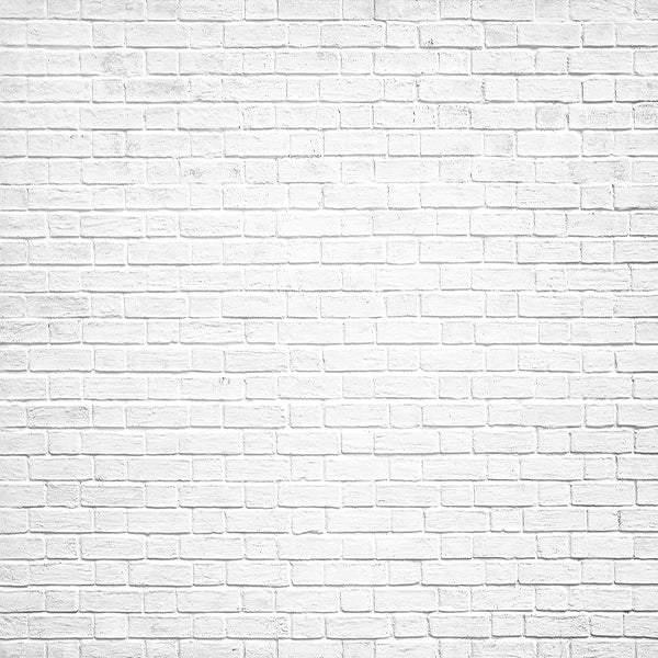 Fox White Brick Wall Vinyl Backdrop-Foxbackdrop