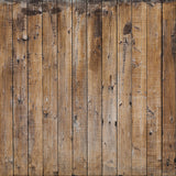 Fox Retro Wood Wall Brown Vinyl Photo Backdrop Cloth