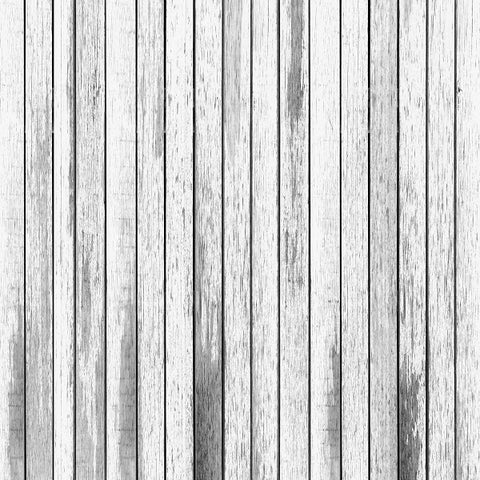 Fox White-Gray Faded Wood Newborn Vinyl Backdrop