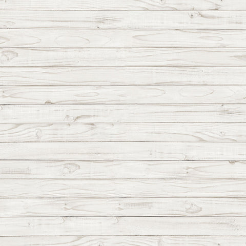 Fox White Wood Vinyl Backdrop for Newborn