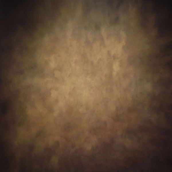 Fox Dark Brown Retro Abstract Vinyl Backdrop-Foxbackdrop