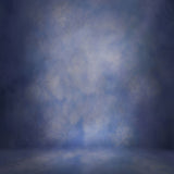 Fox Cloud Blue Abstract Vinyl Photography Backdrop-Foxbackdrop