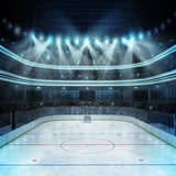Fox Hockey Stadium Sports Vinyl Backdrop-Foxbackdrop