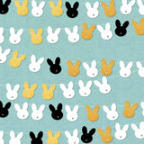 Fox Rolled Vinyl Easter rabbit backdrop