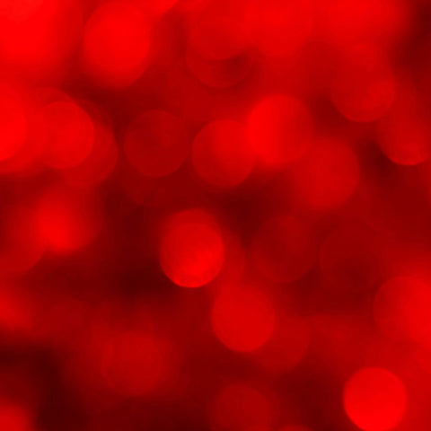 Fox Rolled Bokeh Glitter Red Shining Vinyl Women Backdrop