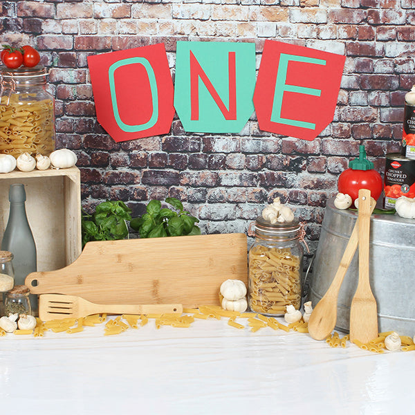 Fox Rolled Brick Cake Smash Vinyl Backdrop Designed by Rhiannon