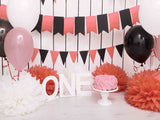 Fox Rolled Cake Smash Children Birthday Vinyl Backdrop-Foxbackdrop