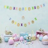 Fox Rolled Eggs Happy Easter Vinyl Photography Backdrop-Foxbackdrop