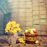 Fox Rolled Eggs Vinyl Easter Photography Backdrops-Foxbackdrop