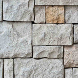 Fox Rolled Vinyl Grey Stone Brick Photography Backdrop-Foxbackdrop