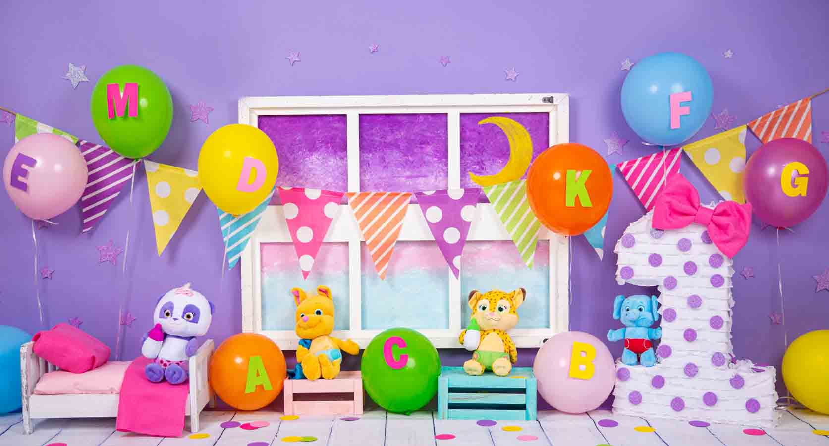 Fox Rolled Vinyl Cake Smash Children Birthday Backdrop Designed By Blanca Perez
