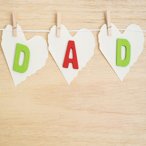 Fox Rolled Vinyl Father's Day Wooden Board Photo Backdrop