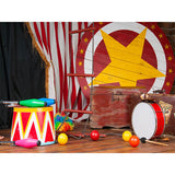 Load image into Gallery viewer, Fox Interior Circo Vinyl Backdrop for Children Photography