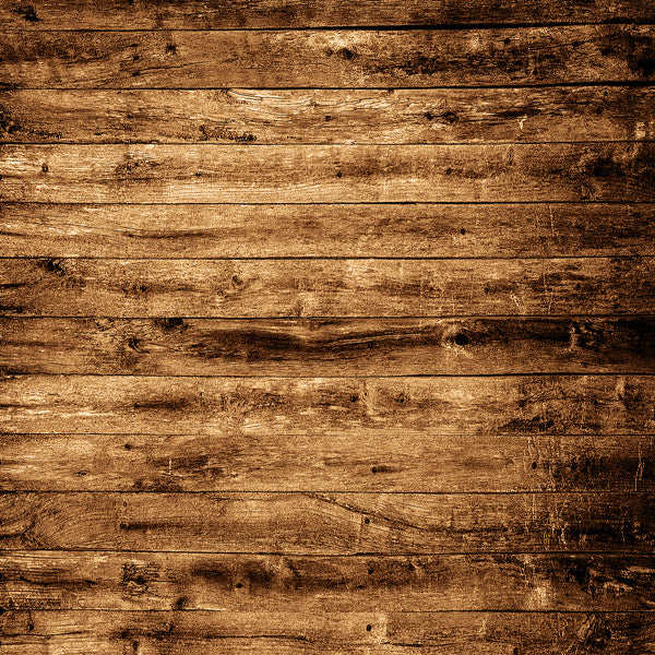 Fox Gold Brown Texture Wood Vinyl Backdrop-Foxbackdrop