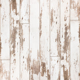 Fox White Wood Vinyl Children Backdrop for Photography