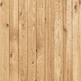 Fox Retro Brown Wood Wall Vinyl Photography Backdrop-Foxbackdrop