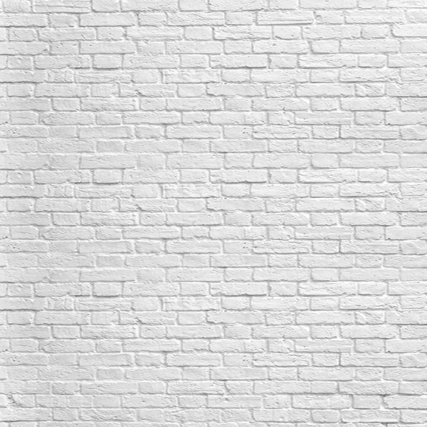 Fox White Gray Brick Wall Vinyl Backdrop-Foxbackdrop
