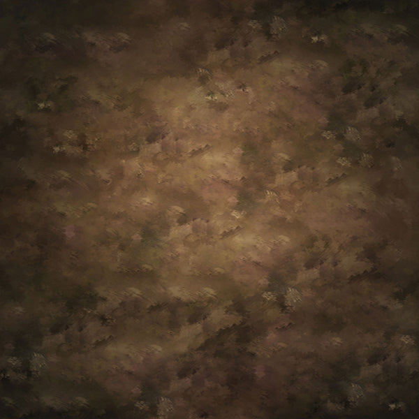 Fox Brown Like Oil Painting Abstract Texture Vinyl Backdrop-Foxbackdrop