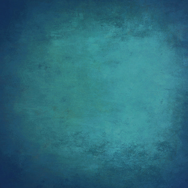 Fox Blue Abstract Vinyl Photo Studio Texture Backdrop-Foxbackdrop