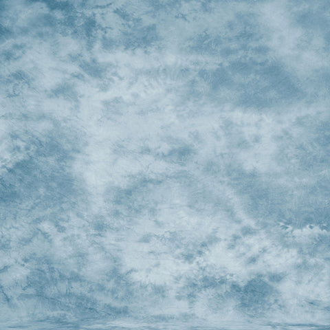 Fox Abstract Sky Blue Smoked Vinyl Photographic Backdrop