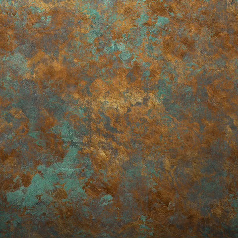 Fox Abstract Iron Rust Portrait Rolled Vinyl Backdrop