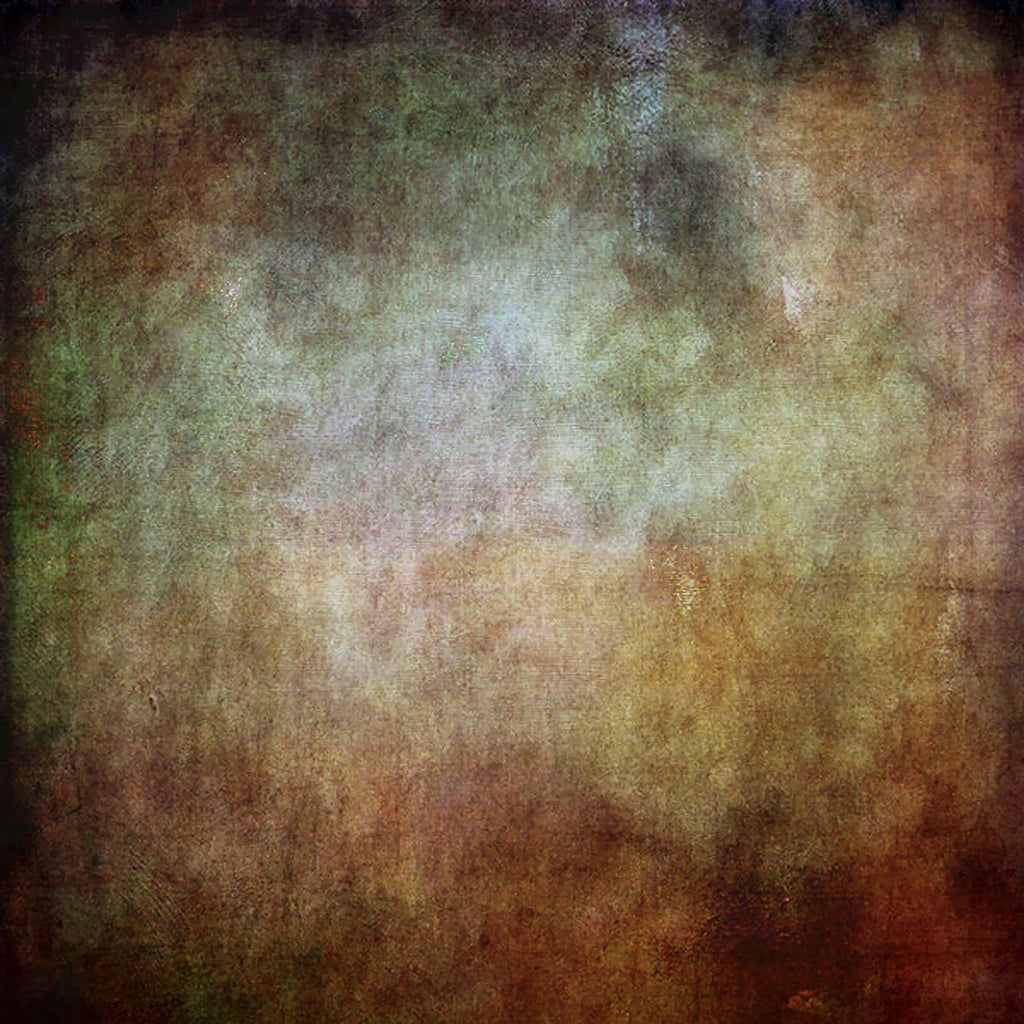 Fox Vintage Brown Rust Iron Abstract Vinyl Photos Backdrop