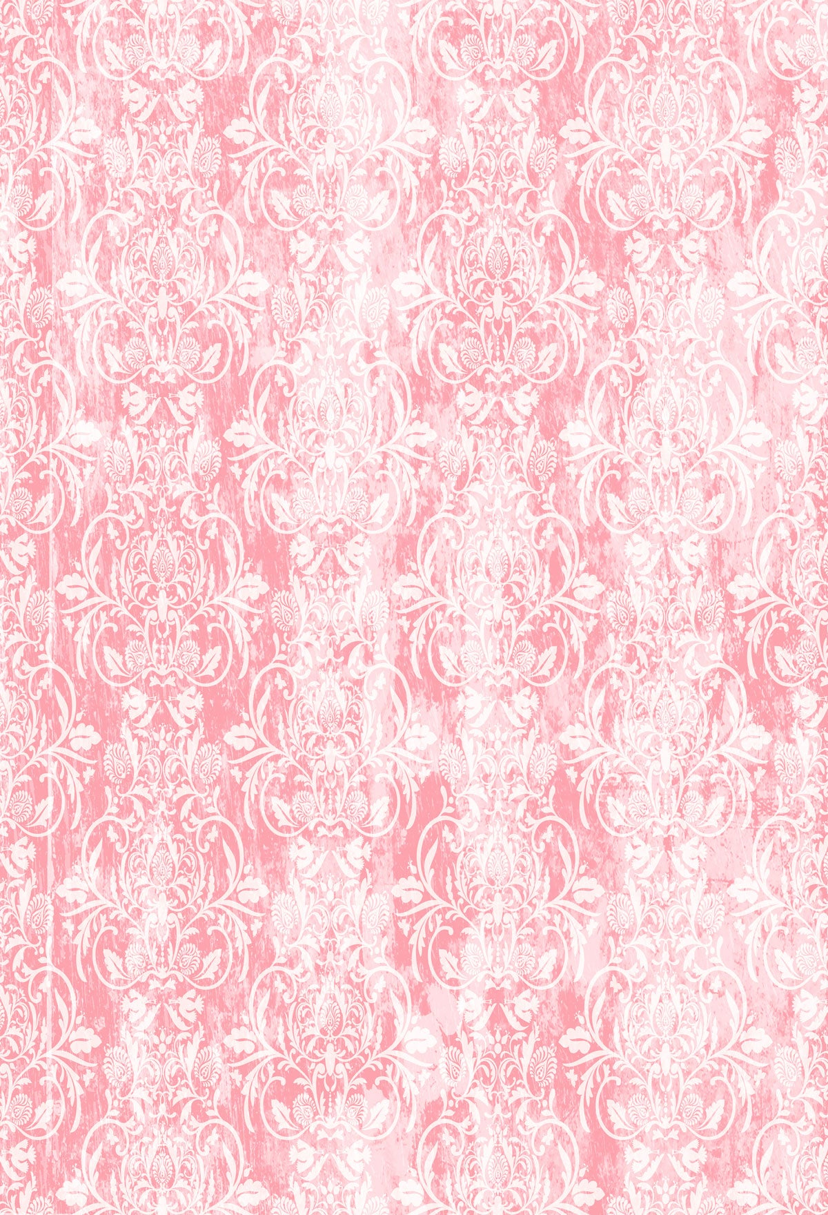 Fox Pink Pattern Vinyl Backdrop for Photography-Foxbackdrop
