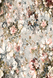 Fox Vintage Floral Vinyl Backdrop for Photography-Foxbackdrop