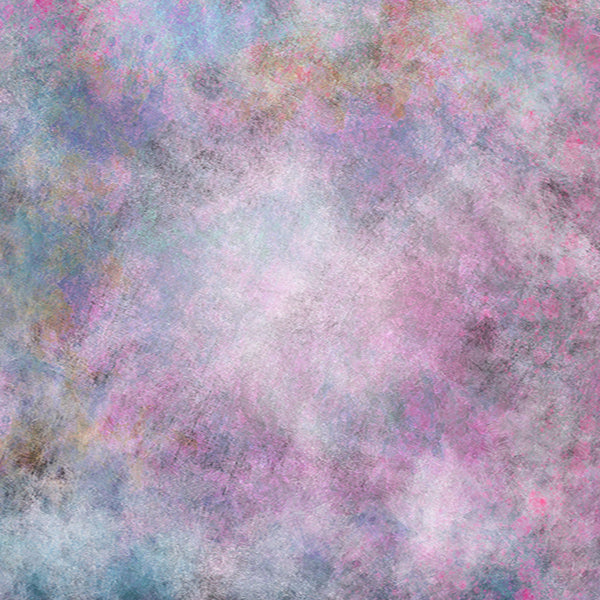 Fox Colorful Texture Spray Vinyl Backdrop for Photography-Foxbackdrop
