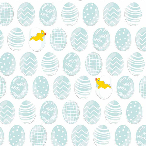 Fox Rolled Vinyl Easter Chick Eggs Children Photo Backdrop