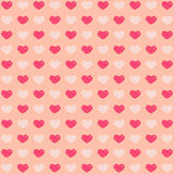 Fox Rolled Valentine's Day Red White Heart Vinyl Backdrop