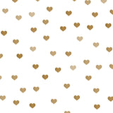 Load image into Gallery viewer, Fox Rolled Vinyl Brown Heart Valentine White Photo Backdrop-Foxbackdrop