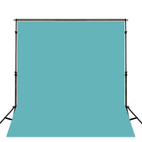 Load image into Gallery viewer, Fox Rolled Solid Turquoise Vinyl Photography Backdrop