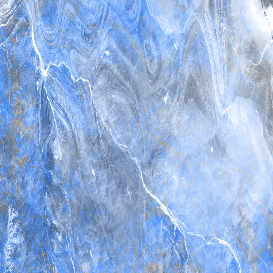 Fox Blue Wave Vinyl Marble Photography Backdrop