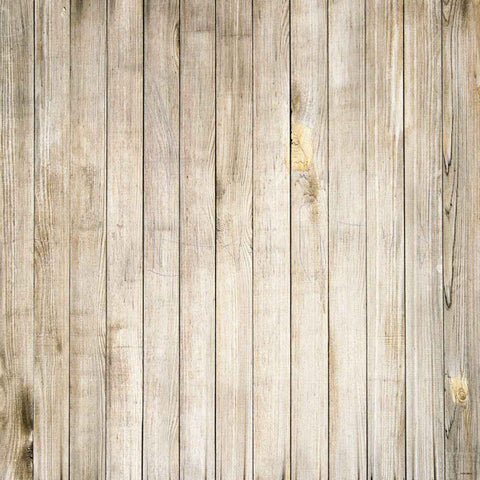 Fox Light Brown Texture Wood Vinyl Backdrop