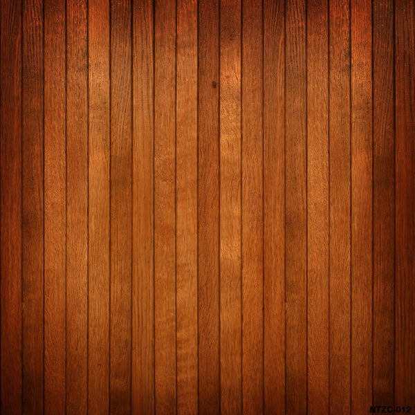 Fox Red Brown Wood Vinyl Backdrop-Foxbackdrop