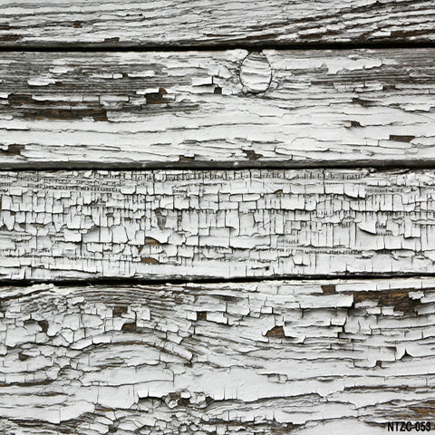 Fox Vintage Gray Faded Barn Wood Vinyl Backdrop
