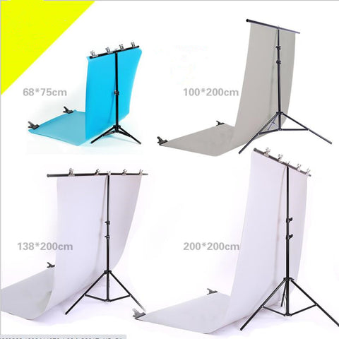 Fox Portable T-Shape Background Backdrop Stand Kit System