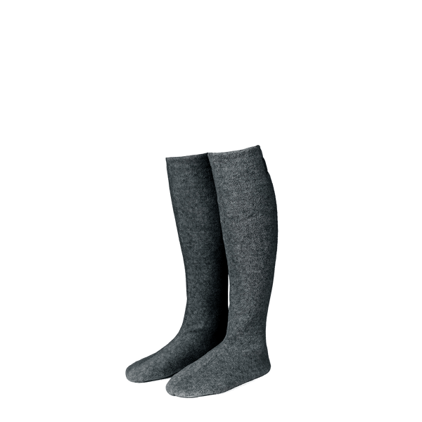 Karmameju Fleece Socks, COZY, Grey