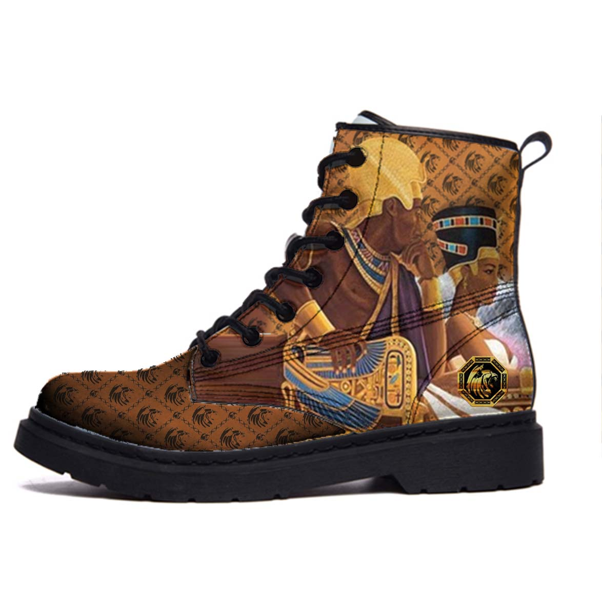 Black Egypt Boot
