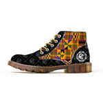Kente Journey - Low Top Boots