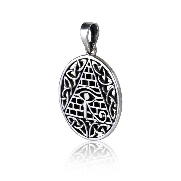 Eye of Horus Celtic Knot Necklace 2