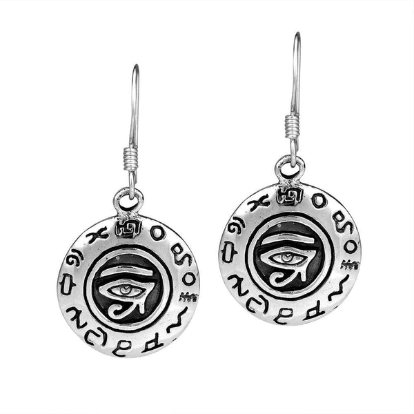 Eye of Horus Charm Earrings 2